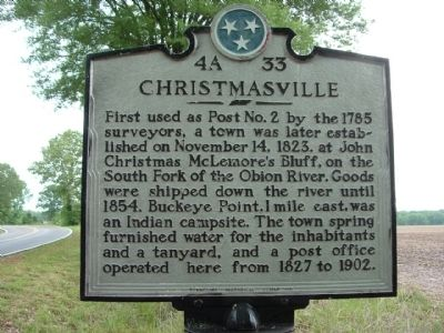 Christmasville Marker image. Click for full size.