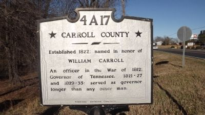 Carroll County Marker image. Click for full size.