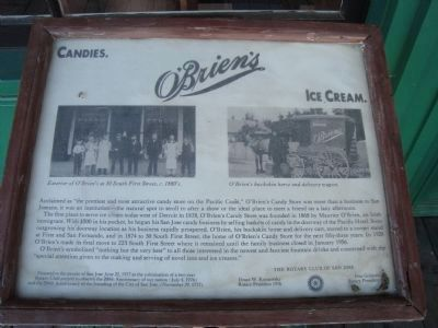O'Brien's Marker image. Click for full size.