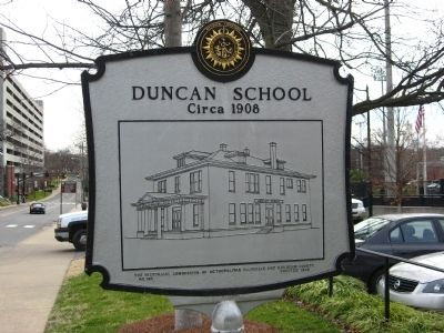 Duncan College Preparatory School for Boys Marker image. Click for full size.