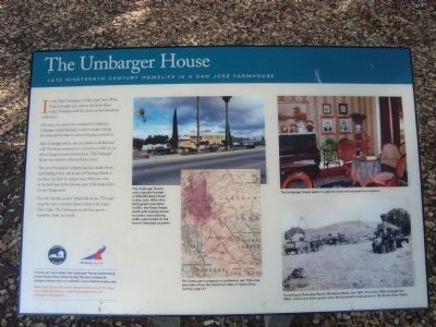 The Umbarger House Marker image. Click for full size.