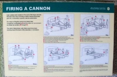 Firing a Cannon Marker image. Click for full size.