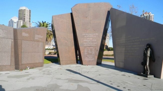 USS San Diego Memorial image. Click for full size.