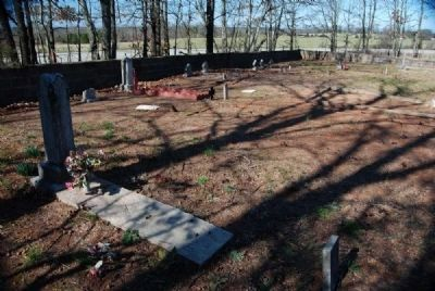 Willis Chapel Methodist Church Cemetery<br>Southeast Corner Looking Northwest image. Click for full size.