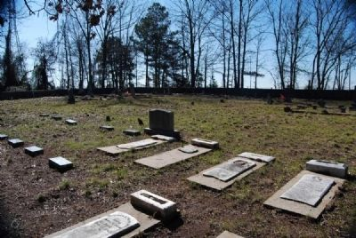 Willis Chapel Methodist Church Cemetery<br>Northeast Corner Looking Southwest image. Click for full size.
