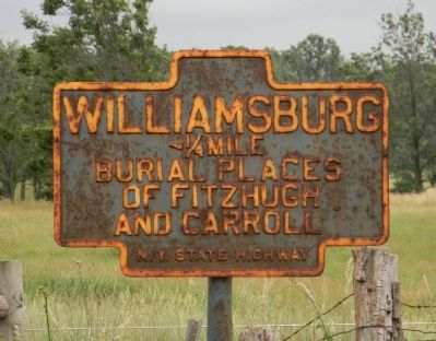 Williamsburg Marker image. Click for full size.