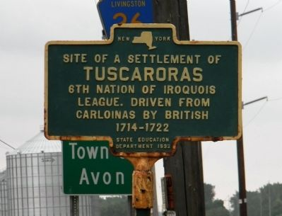 Tuscaroras Marker image. Click for full size.
