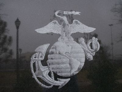 Close up of the Marine Corp emblem image. Click for full size.
