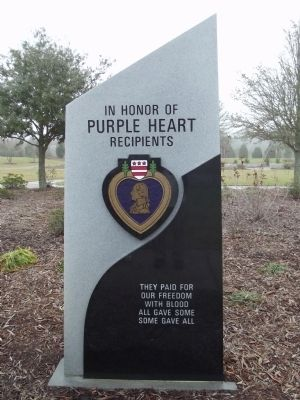 Purple Heart Recipients Marker image. Click for full size.