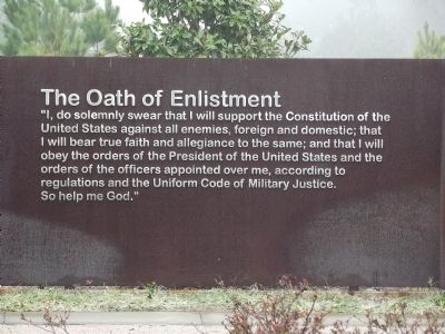 The Oath of Enlistment image. Click for full size.