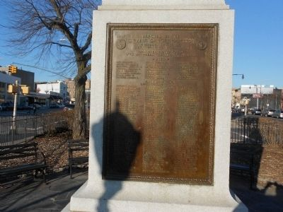Fort Hamilton World War I Memorial Marker image. Click for full size.