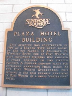 Plaza Hotel Building Marker image. Click for full size.