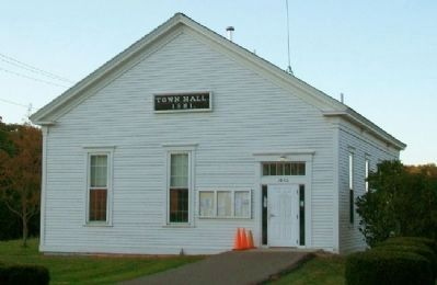 Phippsburg Town Hall image. Click for full size.