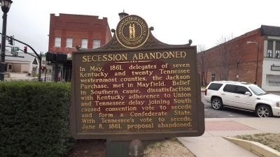 Secession Abandoned Marker image. Click for full size.