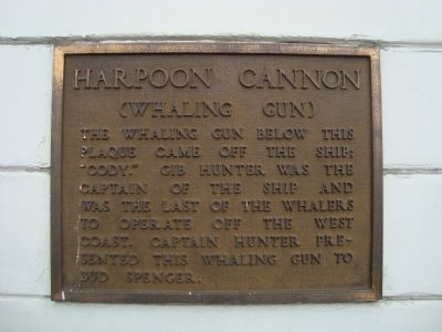Harpoon Cannon Marker image. Click for full size.