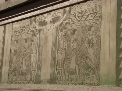 Frieze on the Berkeley Public Library image. Click for full size.