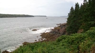 View South from Light of Owl's Head Bay image. Click for full size.