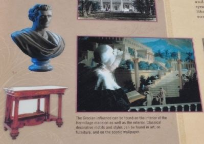 The Hermitage Mansion Greek Influence image. Click for full size.