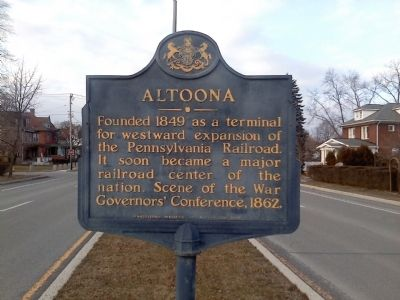 Altoona Marker image. Click for full size.
