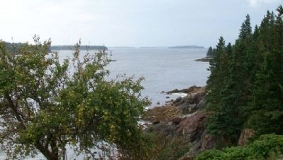 View of Penobscot Bay from Owl's Head Light image. Click for full size.