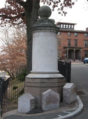 Charter Oak Monument image. Click for full size.
