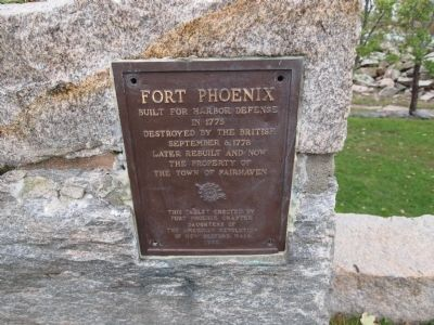 Fort Phoenix Marker image. Click for full size.