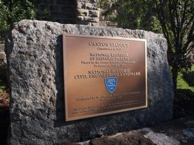 Canton Viaduct Marker image. Click for full size.