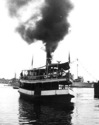 Steamship <i>Magnolia</i> image. Click for full size.