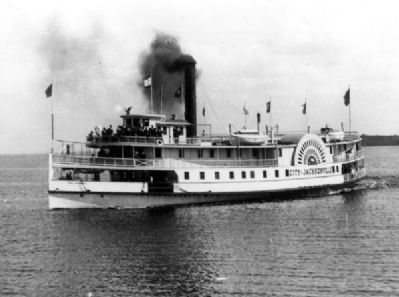 Paddle steamer <i>City of Jacksonville</i> image. Click for full size.