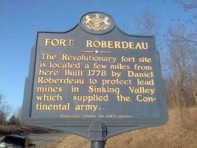Fort Roberdeau Marker image. Click for full size.