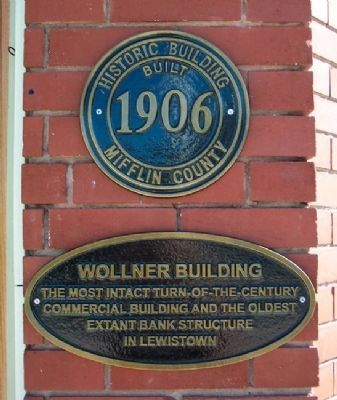 Wollner Building Marker image. Click for full size.
