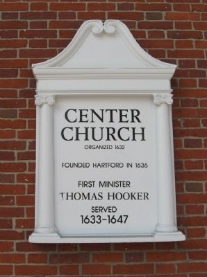 Center Church Marker image. Click for full size.
