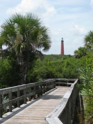 Ponce de Leon Inlet Lighthouse image. Click for full size.