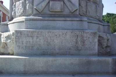 Mifflin County Civil War Soldiers and Sailors Memorial image. Click for full size.