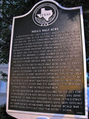 Hell's Half Acre Marker image. Click for full size.