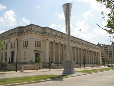 Fort Worth Main Post Office Building image. Click for full size.
