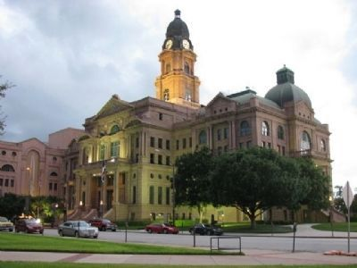 Tarrant County Courthouse image. Click for full size.