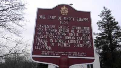 Our Lady of Mercy Chapel Marker image. Click for full size.