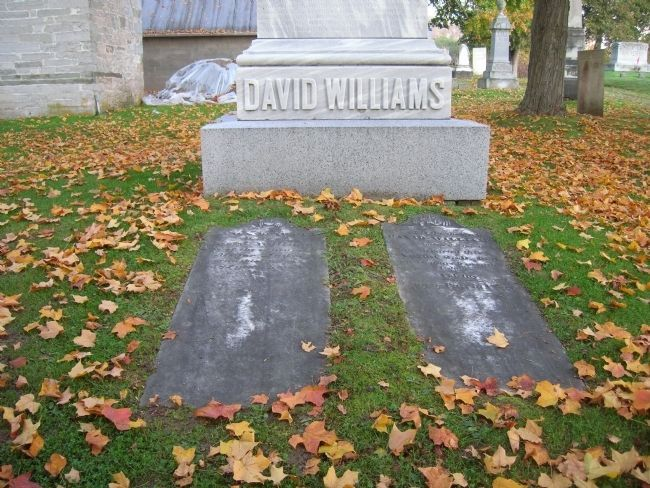 David Williams & His Wife, Nancy Benedict Williams image. Click for full size.