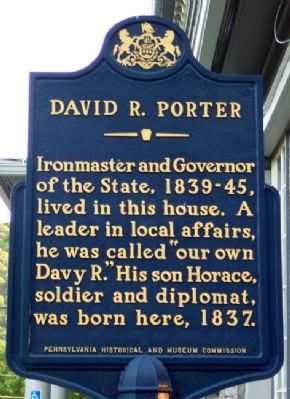 David R. Porter Marker image. Click for full size.