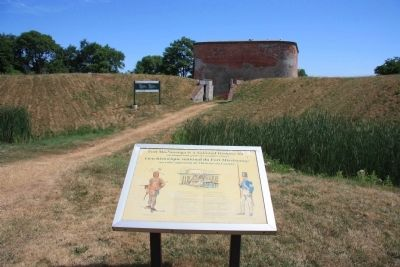Fort Mississauga is a National Historic Site Marker image. Click for full size.