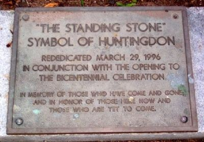 """The Standing Stone"" Marker image. Click for full size."