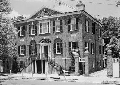 William Blacklock House, Historic American Engineering Record image. Click for full size.