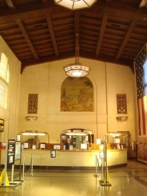 The Main Lobby of the San José Diridon Station image. Click for full size.