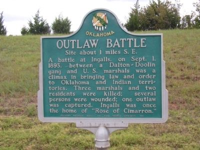 Outlaw Battle Marker image. Click for full size.