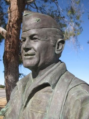 Chuck Yeager Statue image. Click for full size.