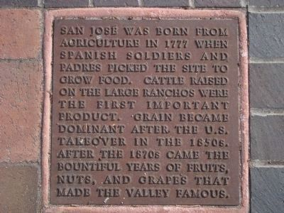 Remembering Agriculture Marker, panel 2 image. Click for full size.
