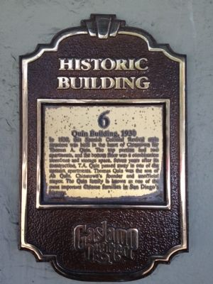 Quin Building, 1930 Marker image. Click for full size.