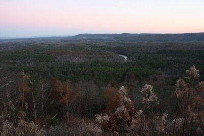 Coosa Valley viewed from Double Oak Mountain image. Click for full size.