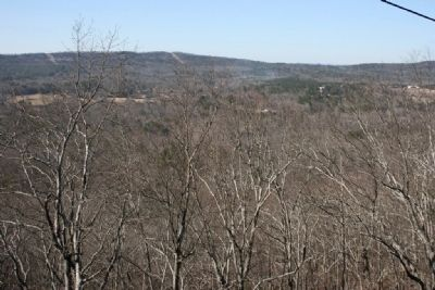 Cahaba Valley viewed from Double Oak Mountain. image. Click for full size.